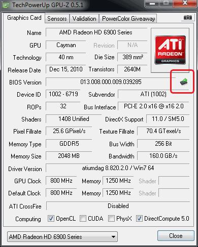 Unlocking Radeon HD 6950 2GB — tested | HWlab