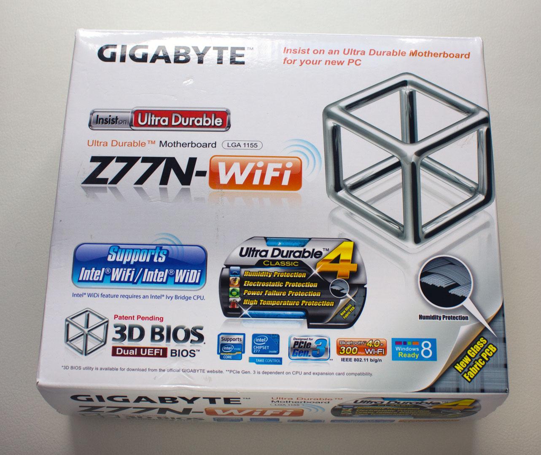 Driver for Gigabyte GA-Z77N-WIFI USB Blocker